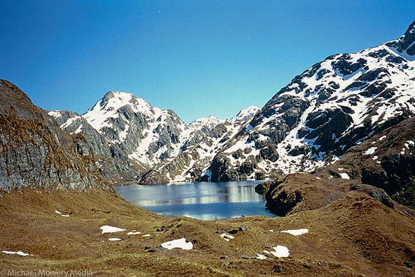 Along the Routeburn