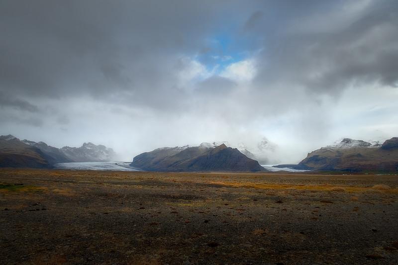 Vatnajökull Tearing through the Mountains