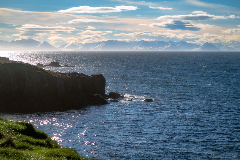 Iceland from Grimsey