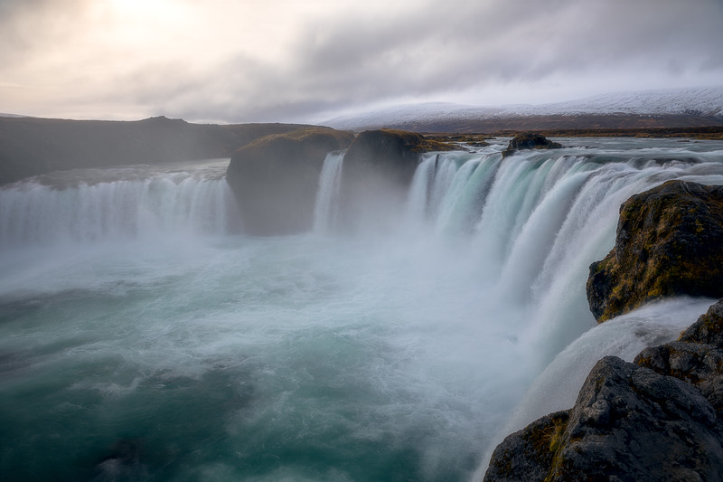 Goðafoss from above