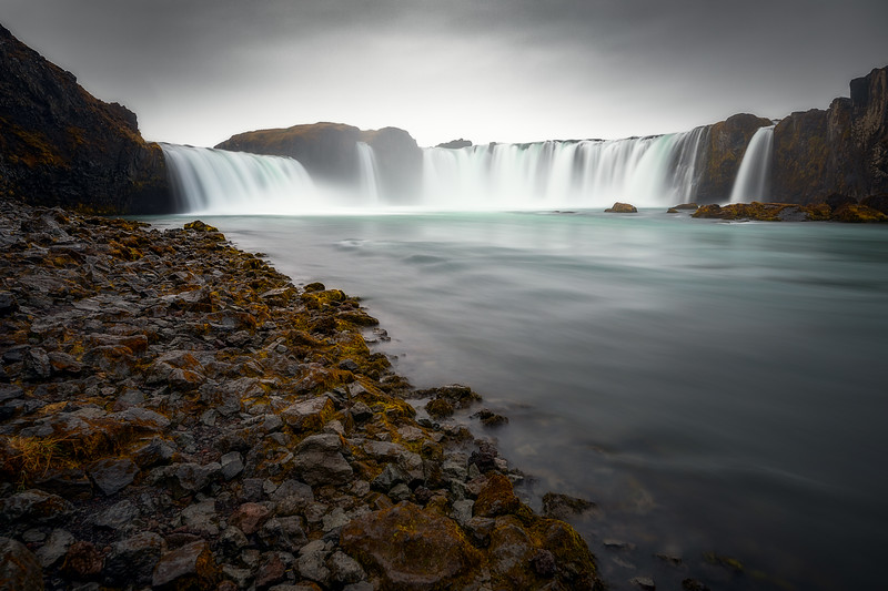 Goðafoss from the Shore