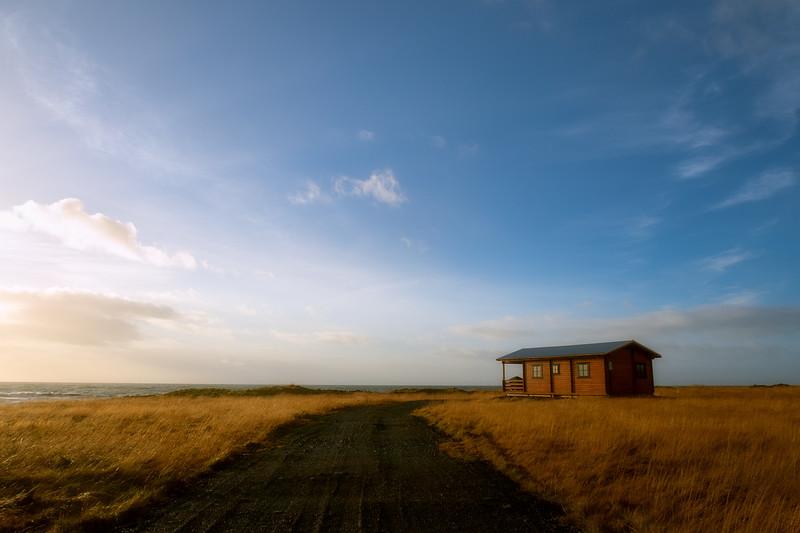 Cabin on the Snæfellsnes Penninsula