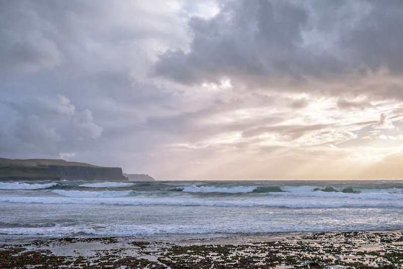 High Winds off Doolin
