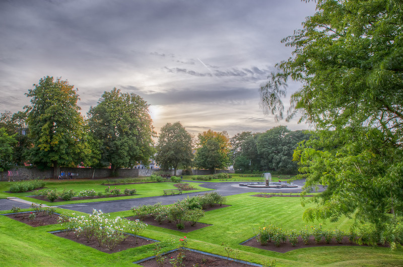 In Front of Kilkenny Castle