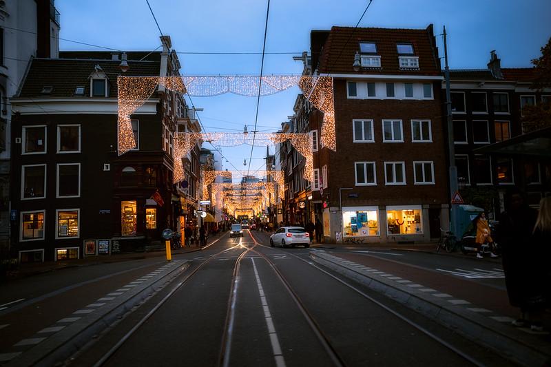 Festive Amsterdam Evening