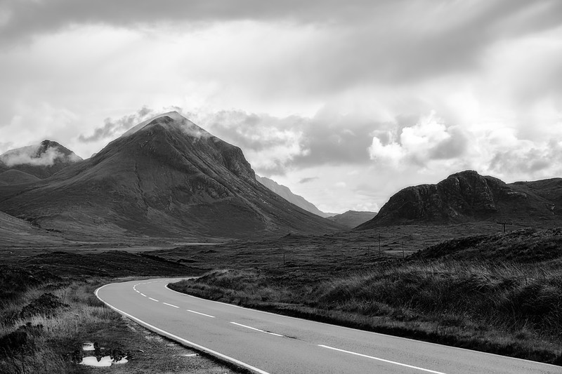 Road on the Isle of Skye