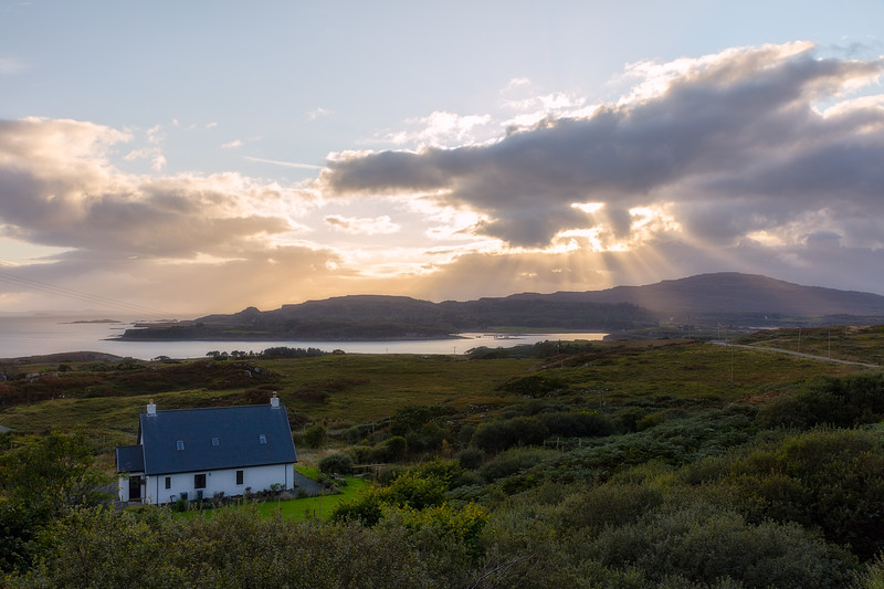 House on the Isle of Mull