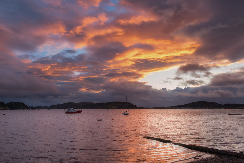 Oban Bay Sunset