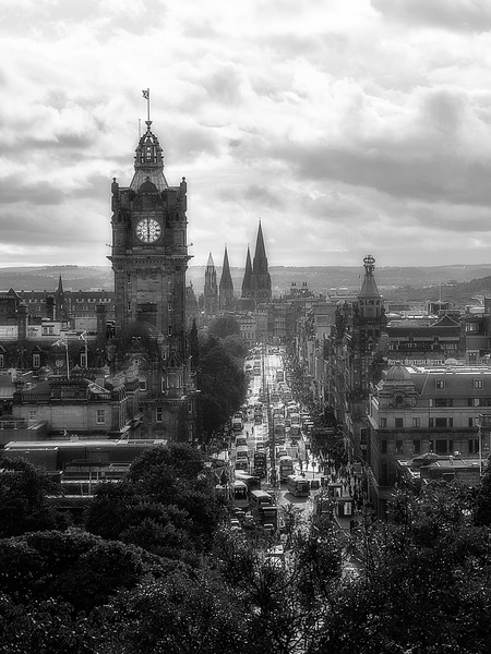 A Look Down Princes Street