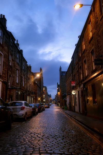 Edinburgh Night Stroll