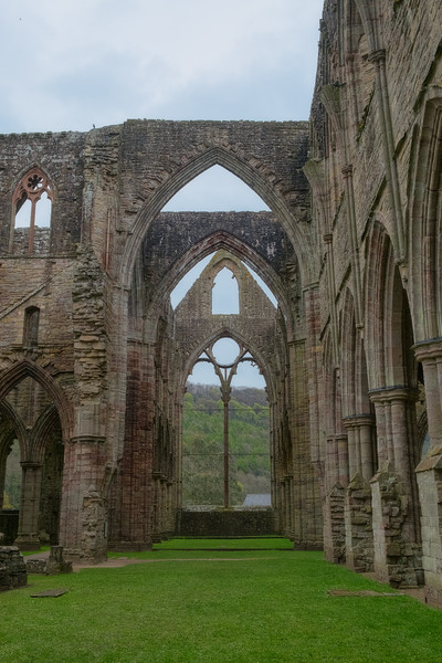 Inside Tintern Abbey