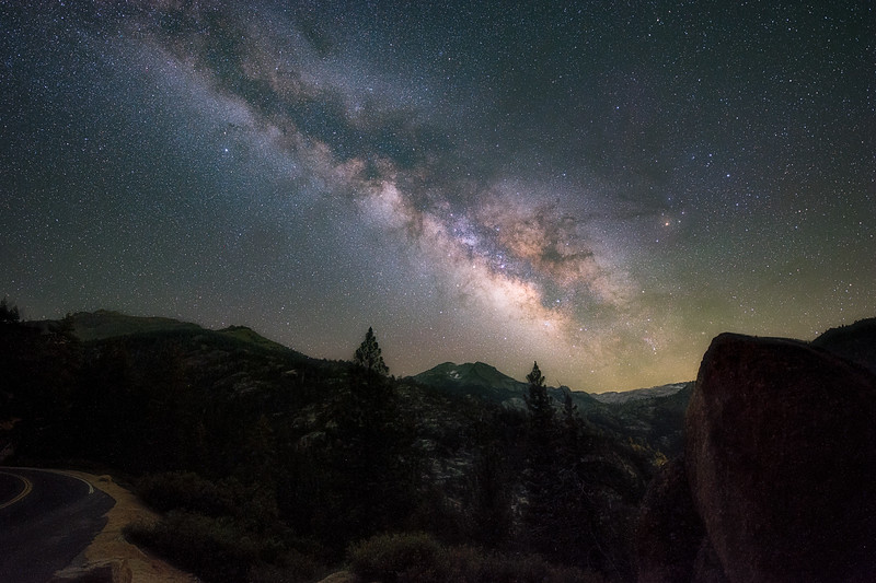 Milky Way at Sonora Pass