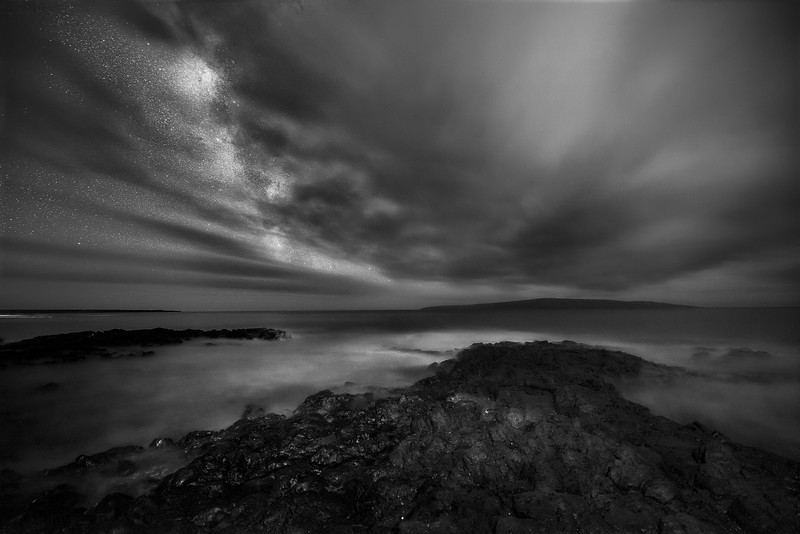 A Cloudy Night off Makena Rd