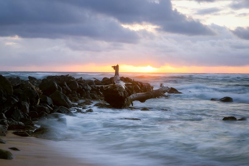 Lydgate Beach Sunrise