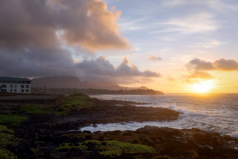 Sunrise in Poipu