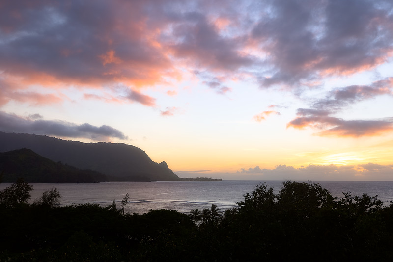 Sunset from Hanalei Bay Resort