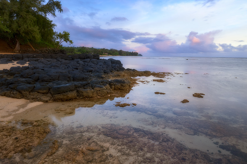 Morning on the North Coast of Kauai