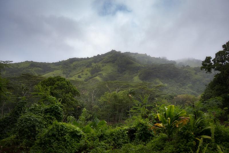 View from Wainiha Powerhouse Rd