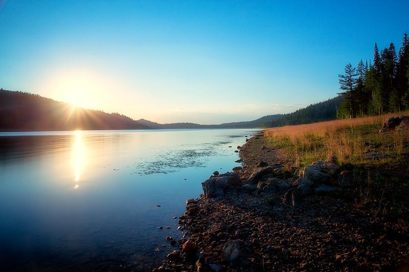 Navajo Lake at Sunrise