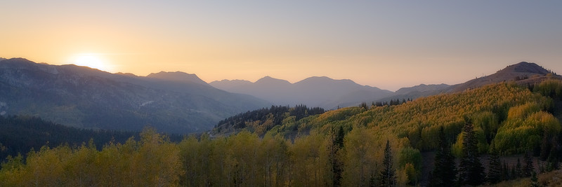 Colors Changing in Guardsmans Pass