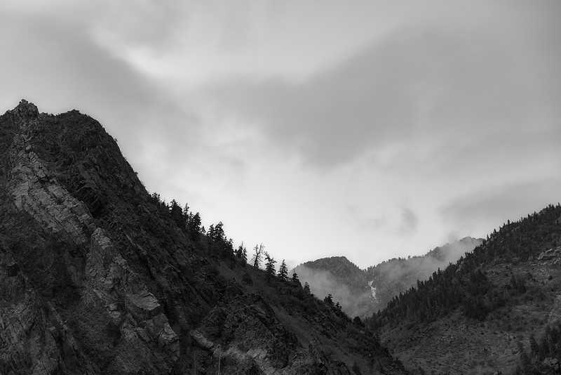 Storms Gather in Big Cottonwood Canyon