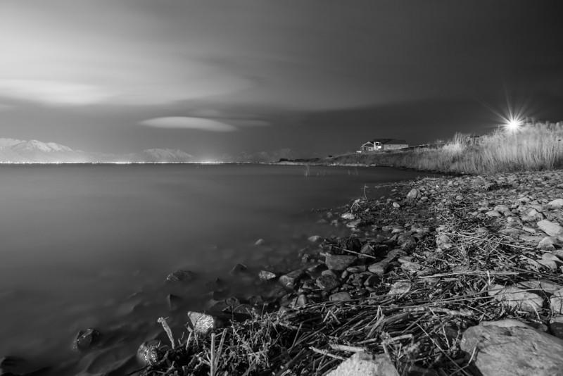 Shore of Utah Lake