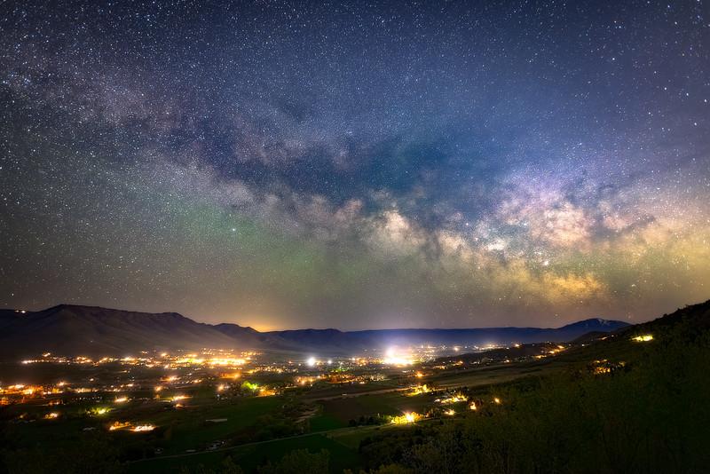 Milky Way over Eden