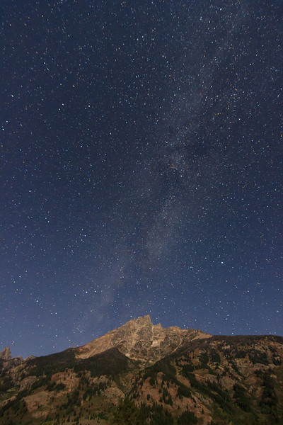 Milky Way over Grand Teton