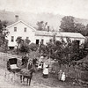 Charles Sill house at the forks of the creek, Genoa NY. (Photo ID: 28048)