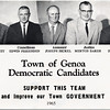 1965 Town of Genoa Democratic Candidates. (Photo ID: 41180)
