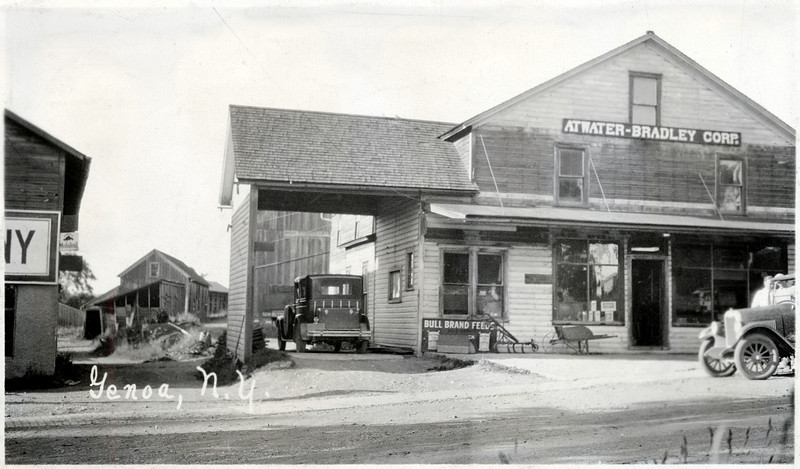 Atwater-Bradley Corp. Route 90 North side of road in Genoa, NY. (Photo ID: 27957)
