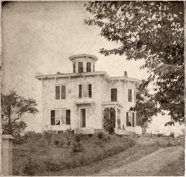 Sellen house on Rt 34, Genoa, NY. (Photo ID: 36093)