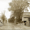 Genoa; Main St.; Mastin's store on the left side looking West. (Photo ID: 27919)