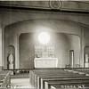 Interior of St. Hillary Church, Genoa, NY. (Photo ID: 28973)