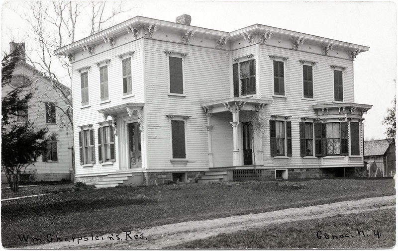 W. M. Sharpstein's residence, Genoa, NY. (Photo ID: 46572)