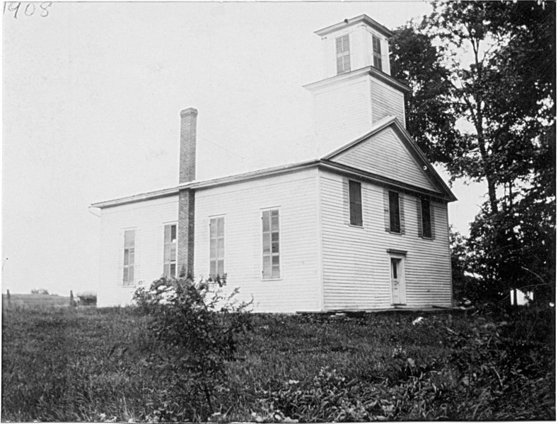 Presbyterian Church at Five Corners. (Photo ID: 28146)