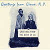 Greetings from Genoa, NY. Greetings from the both of us. (Photo ID: 50483 c)