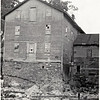 Hoxie's Mill with timber in creek bed, Genoa, NY. (Photo ID: 27929)