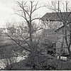 Hoxie's Mill looking N E to Maple St. (note dam is out) (Photo ID: 27932)
