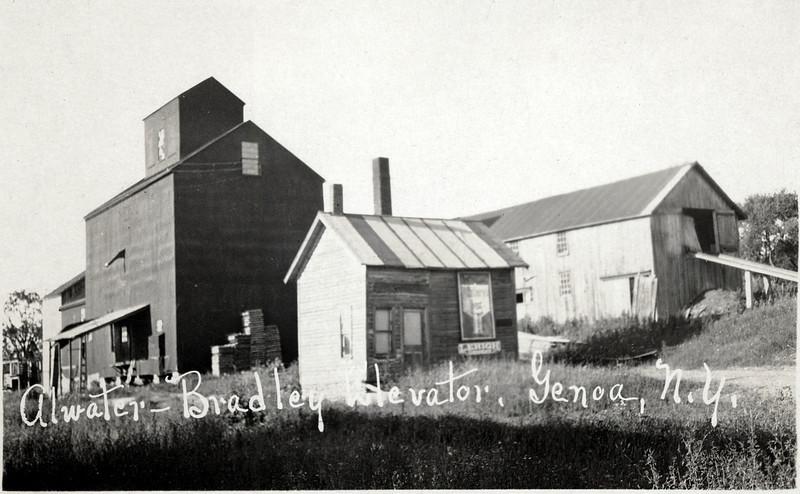 Atwater-Bradley Corp. grain elevator, Genoa, NY. (Photo ID: 27956)
