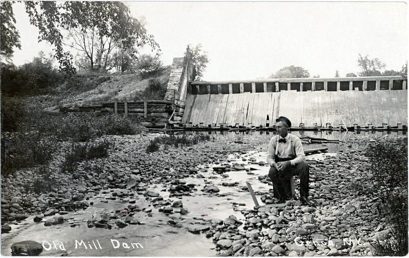 Old Mill Dam Genoa, N.Y. (Photo ID: 30867)