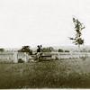 Fences of O'Hara House on Indian Field Rd.  Edith (Mason) and Charles O'Hara. (Scan ID: 29927)
