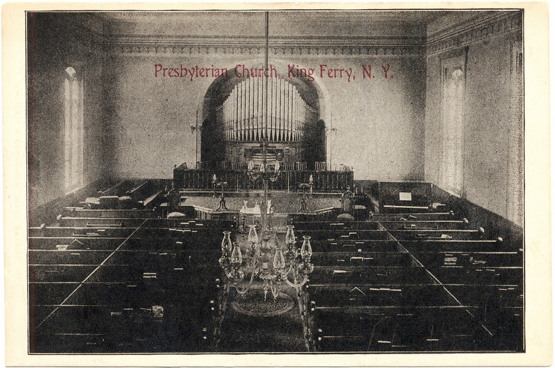 Inside King Ferry Presbyterian Church. (Photo ID: 28971)