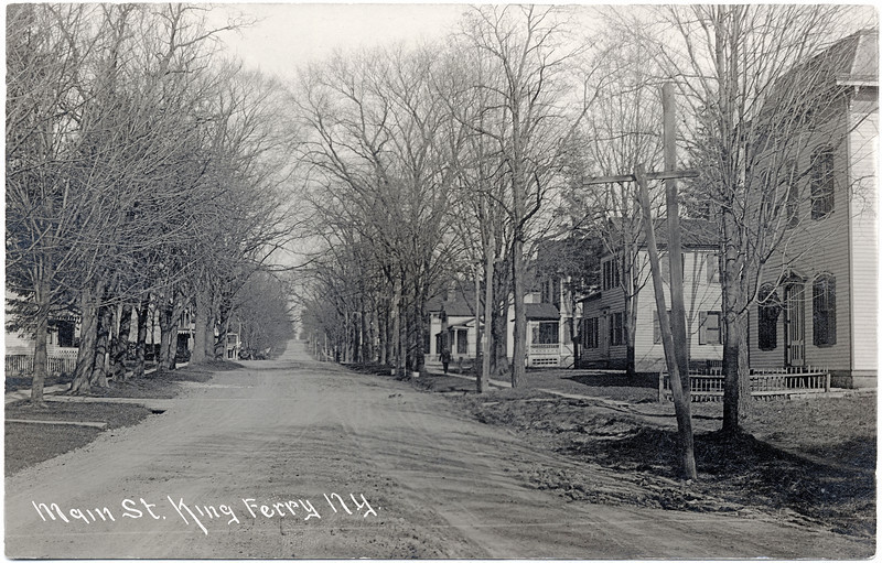 King Ferry Main St. looking East from Masonic Hall