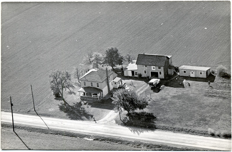 Francis Meade home in the late 1960's. 414 Mahaney Road, King Ferry, NY. (Photo ID: 35063)