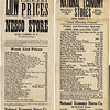King Ferry Store grocery prices. (Photo ID: 29345)