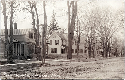 Main Street, King Ferry, NY.  Looking South West. (Scan ID: 28034)