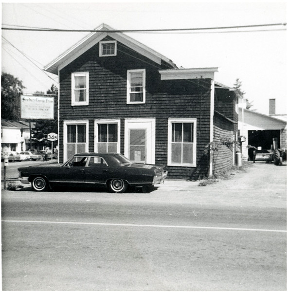 The King Ferry Tribune office on the North East corner of Route 34B and Route 90, King Ferry, NY. (Photo ID: 45543)