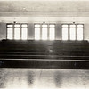 Gymnasium in King Ferry School.  Under the bleachers, there was a class room. (Photo ID: 30469)