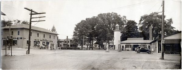 Route 34B and Route 90 intersection in King Ferry, NY. (Photo ID: 27951)